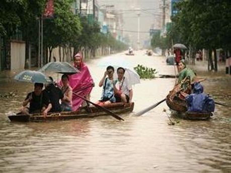 Опади Рекордний рівень опадів призвів до повені