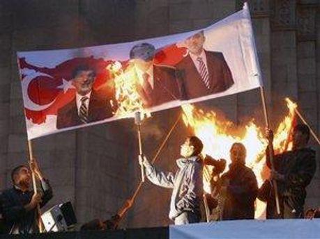 Антитурецькі демонстрації в Єревані