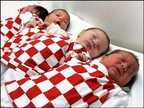 На Донетчині народилось 6505 немовлят