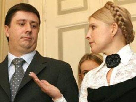 В'ячеслав Кириленко та Юлія Тимошенко