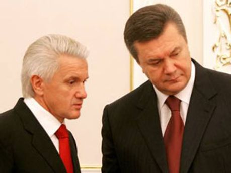 Володимир Литвин та Віктор Янукович