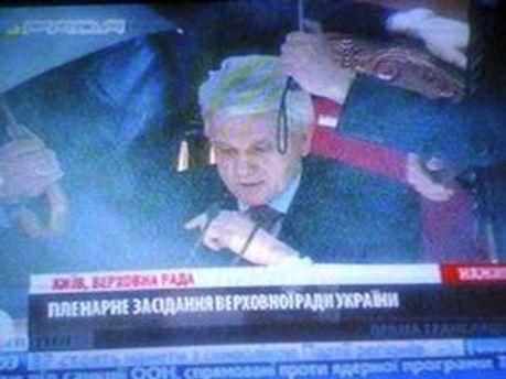 Литвин провів голосування без необхідної кількості депутатів