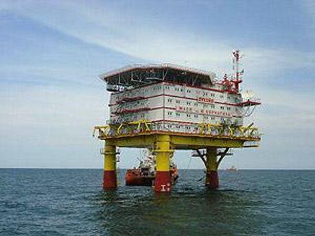 Видобуток нафти в Каспійському морі