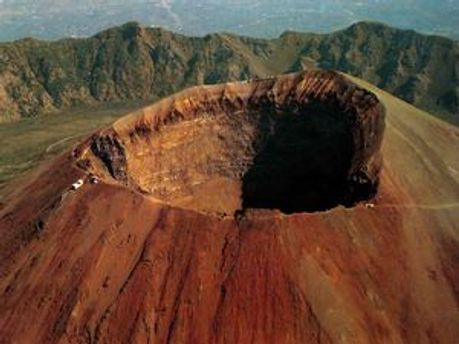 Кратер вулкану Везувій