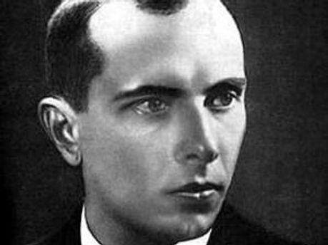 Лідер українських націоналістів Степан Бандера