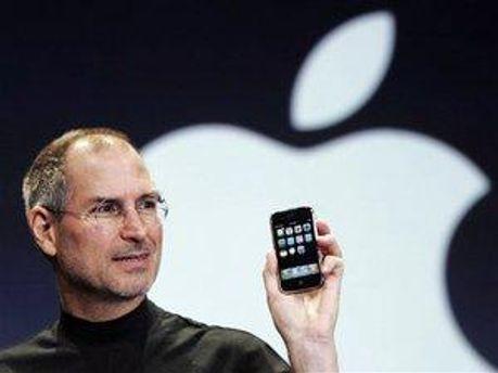 Стів Джобс, глава корпорації Apple