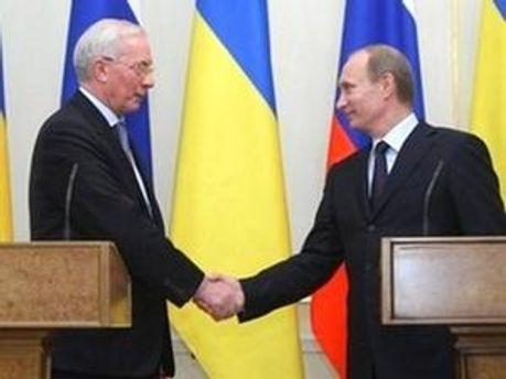 Азаров і Путін обговорюють у Сочі подальшу співпрацю