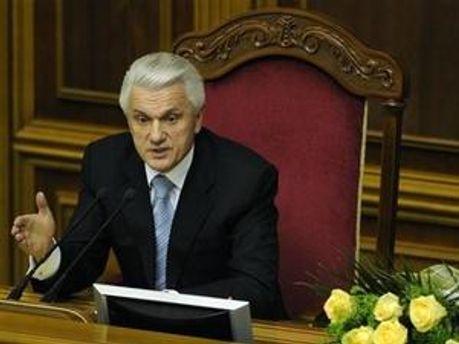 Спікер Верховної Ради України Володимир Литвин