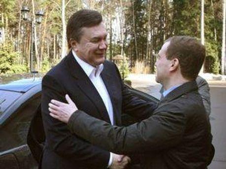 Між Януковичем та Медведєвим зросла взаємодовіра