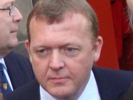 Прем'єр-міністр Данії Ларс Лекке Расмуссен