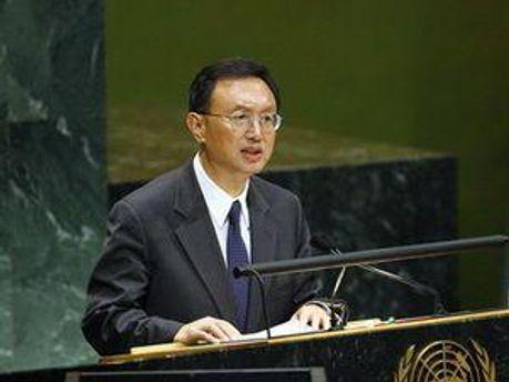 Міністр закордонних справ КНР Ян Цзечі