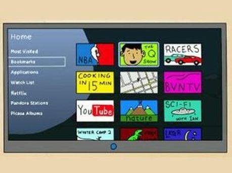 Кадр з демо-ролика Google TV
