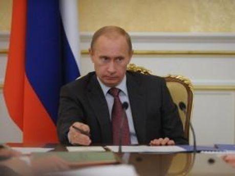 Прем'єр РФ Володимир Путін