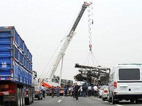 МНС Китаю ліквідовує наслідки аварії