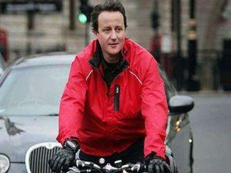 Дейвід Кемерон може також добиратися на роботу на велосипеді