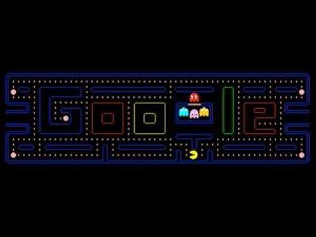 Гра Pac-Man від Google