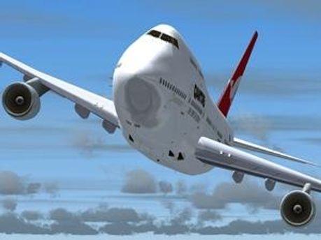 Літак авіакомпанії Georgia Airways