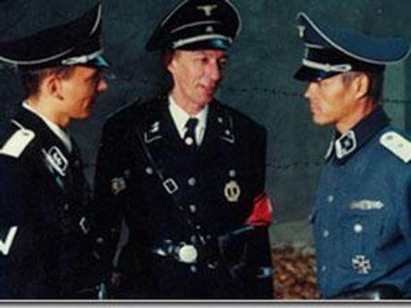 По сюжету німці були проти червоноармійців