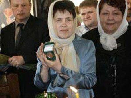 Дружину Президента України Людмилу Янукович нагородили орденом великомучениці Катерини