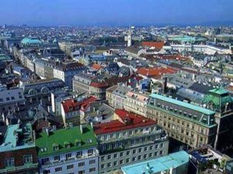 Вид на Відень