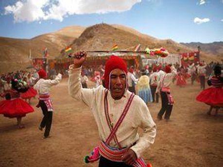 Індіанці аймара в Болівії