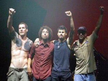 Група Rage Against The Machine