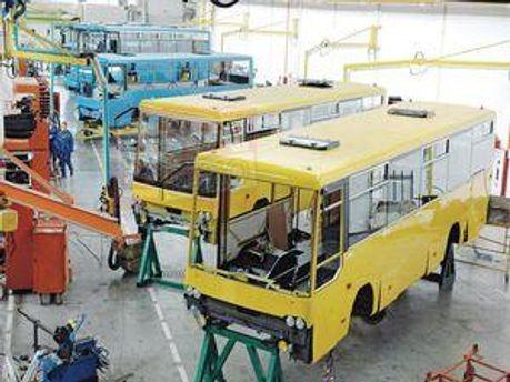 Виробництво автобусів