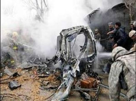 Терорист-смертник підірвав себе біля воріт міжнародної компанії постачання