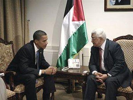Барак Обама та Махмуд Аббас