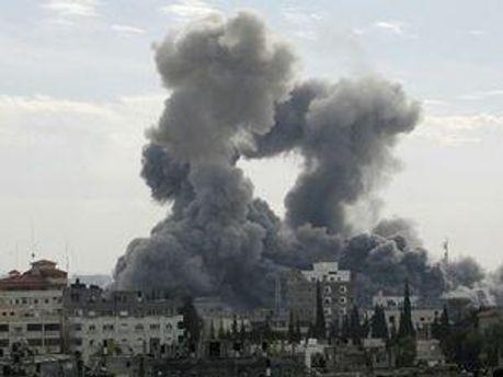 Вибух у секторі Газа