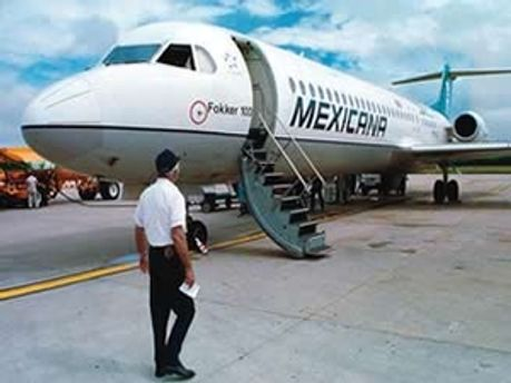 Літак компанії Mexicana de Aviacion