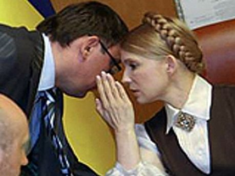 Луценко і Тимошенко домовились про спільні списки