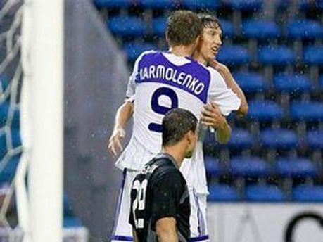 Денис Гармаш забив свій дебютний гол у єврокубках