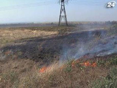 В Україні пожежі лише починаються
