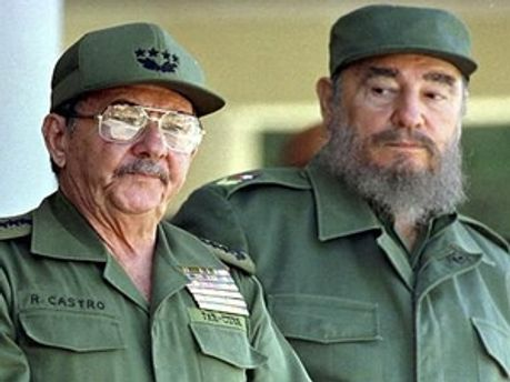 Рауль і Фідель Кастро