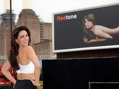 Реклама Reetone з Келлі Брук