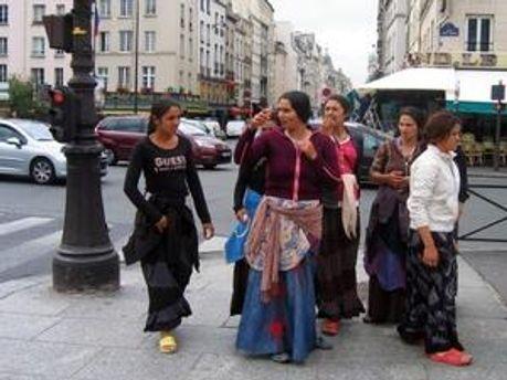 Цигани у Парижі