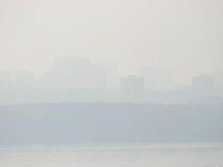 Москва в диму