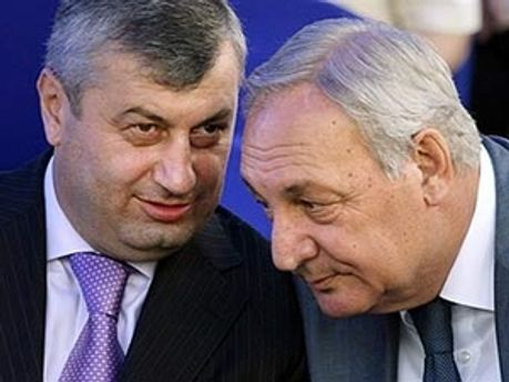 Президенти Південної Осетії і Абхазії Едуард Кокойти і Сергій Багапш