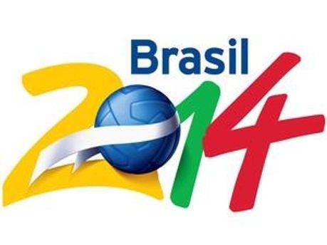Логотип Чемпіонату світу з футболу у Бразилії у 2014 році