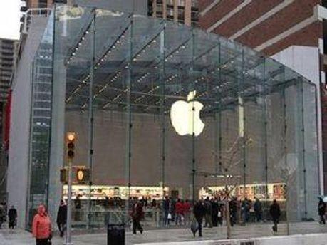 Магазин Apple в Нью-Йорку