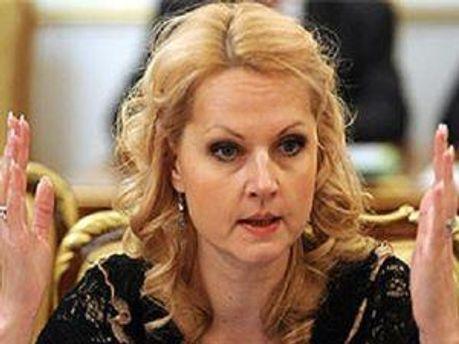 Тетяна Голікова