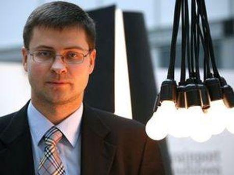 Прем'єр-міністр Латвії Валдіс Домбровскіс