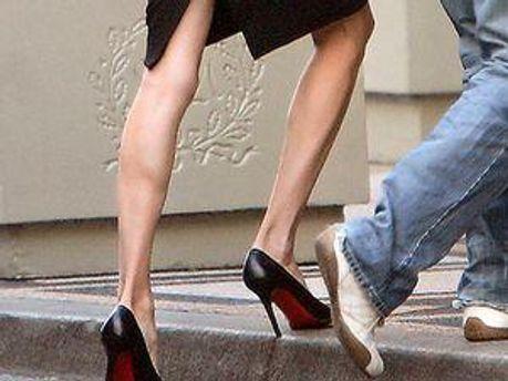 Ноги Джолі важко впізнати