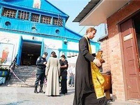 Вибух у церкві в Запоріжжі