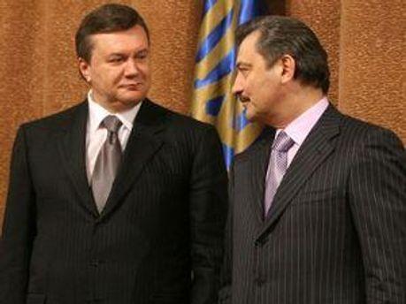 Віктор Янукович та Василій Джарти