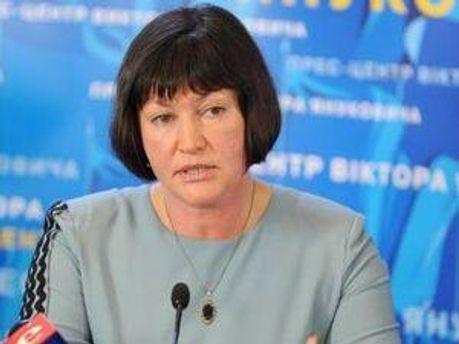 Перший заступник глави адміністрації президента Ірина Акімова