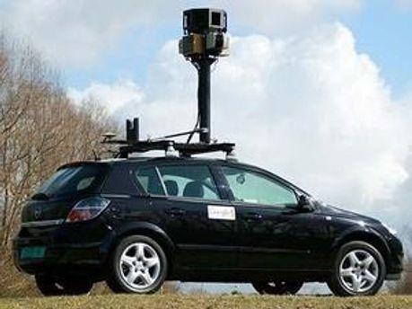 Автомобіль із спеціальними камерами для підготовки проекту Google Street View