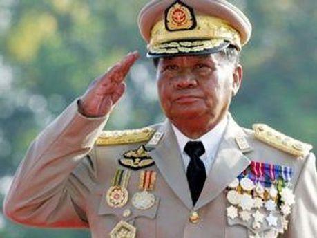 Диктатор М'янми Тан Шве