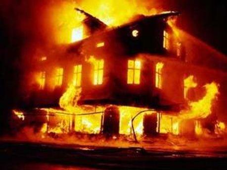 За вчора в Україні згоріли 44 будівлі